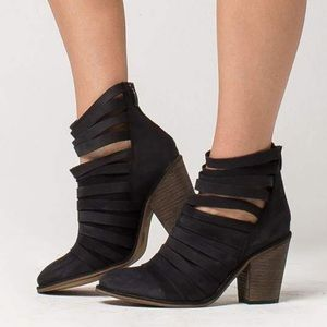 Free People Hybrid Strappy Bootie